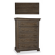 A.R.T Furniture St. Germain 6 Drawer Chest in Coffee/ Foxtail 215150-1513