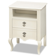 Smartstuff Furniture Genevieve Nightstand in French White 434A080