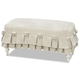 Smartstuff Furniture Genevieve Bed Bench in French White 434A075