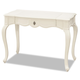 Smartstuff Furniture Genevieve Vanity Desk in French White 434A027