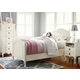 Smartstuff Furniture Genevieve 4-Piece Reading Bedroom Set in French White