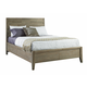Casana Furniture Harbourside Queen Panel Bed in Weathered Acacia