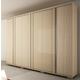 Manhattan Comfort Soho 6-Door Wardrobe in Oak Vanilla and Nude 33863