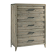 Casana Furniture Harbourside 6 Drawer Chest in Weathered Acacia
