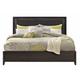 Casana Furniture Sierra Queen Panel Bed in Dark Mindi
