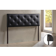 Baxton Studio Bedford Full Sized Headboard in Black