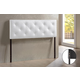 Baxton Studio Bedford Queen Sized Headboard in White