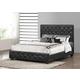 Baxton Studio Manchester Full Modern Platform Bed Black