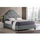 Baxton Studio Colchester Full Modern Platform Bed in Grey
