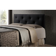 Baxton Studio Kirchem  Queen Sized Upholstered Headboard in Black