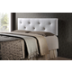 Baxton Studio Kirchem  Queen Sized Upholstered Headboard in White