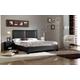 Baxton Studio Moderne Ful Modern Platform Bed in Black