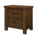 Standard Furniture Cameron Youth Nightstand in Brown 94057