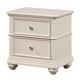 Standard Furniture Camellia Nightstand in Marshmallow 95207