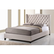 Baxton Studio Norwich King Platform Modern Bed in Light Beige
