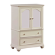 Standard Furniture Camellia Wardrobe in Marshmallow 95210