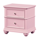 Standard Furniture Camellia Nightstand in Bubblegum 95217