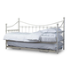 Baxton Studio Royale Daybed in White