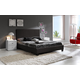 Baxton Studio Vivaldi Full Bed in Dark Brown