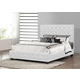 Baxton Studio Manchester Queen Modern Platform Bed in White