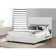 Baxton Studio Manchester Full Modern Platform Bed in White