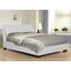 Baxton Studio Monroe Queen Modern Platform Bed in White