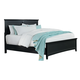 Standard Furniture Cooperstown Queen Panel Bed in Black