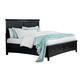 Standard Furniture Cooperstown Queen  Storage Bed in Black