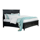 Standard Furniture Cooperstown King Storage Bed in Black