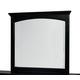 Standard Furniture Cooperstown Mirror in Black 99858