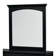 Standard Furniture Cooperstown Youth Mirror in Black 99868