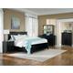Standard Furniture Cooperstown Panel Bedroom Set in Black