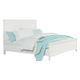 Standard Furniture Cooperstown Queen Panel Bed in White