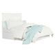 Standard Furniture Cooperstown Queen Panel Headboard in White