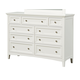 Standard Furniture Cooperstown Dresser in White 99959