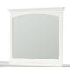Standard Furniture Cooperstown Mirror in White 99958