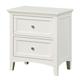 Standard Furniture Cooperstown Nightstand in White 99957
