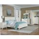Standard Furniture Cooperstown Panel Bedroom Set in White