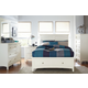 Standard Furniture Cooperstown Storage Bedroom Set in White