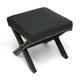 Baxton Studio Marnie Linen Modern Bench in Gray