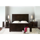Bernhardt Miramont Panel Bedroom Set in Dark Sable