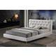 Baxton Studio Panchal King Modern Platform Bed in White