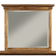 Alpine Furniture St. James Mirror in Salvaged Brown