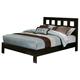 Alpine Furniture Manhattan Eastern King Platform Bed in Dark Espresso