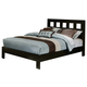 Alpine Furniture Manhattan Queen Platform Bed in Dark Espresso