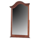 Alpine Furniture Louis Philippe Mirror in Medium Cherry 3705-1