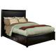 Alpine Furniture Laguna Queen Storage Bed in Dark Espresso