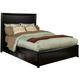 Alpine Furniture Laguna California King Storage Bed in Dark Espresso