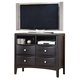 Alpine Furniture Laguna TV and Media Chest in Dark Espresso