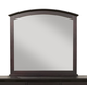 Alpine Furniture Del Mar Mirror in Dark Espresso